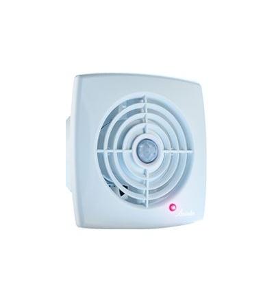 Ventilátor axiální RETIS WR, bílý, s časovým spínačem, 220 V, 142 x 142 mm, vývod O 100 mm 600895