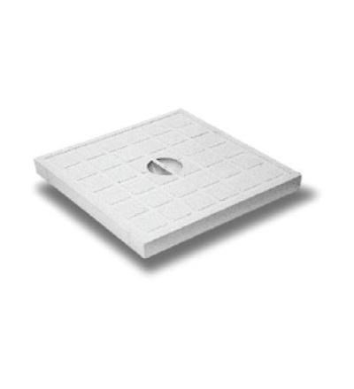 Víko šachty, plastové, nosnost max. 3,5 t,  300 x 300 mm 500601