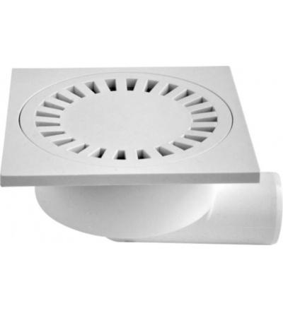 Vpusť podlahová, plastová, průtok 55l / min., s bočním vývodem O 50 mm 500816