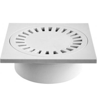Vpusť podlahová, plastová, průtok 55l / min., se spodním vývodem O 50 mm 500815